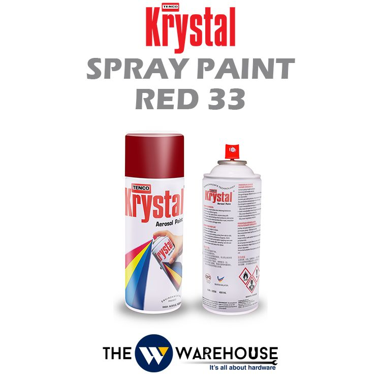 Krystal Spray Paint Red 33