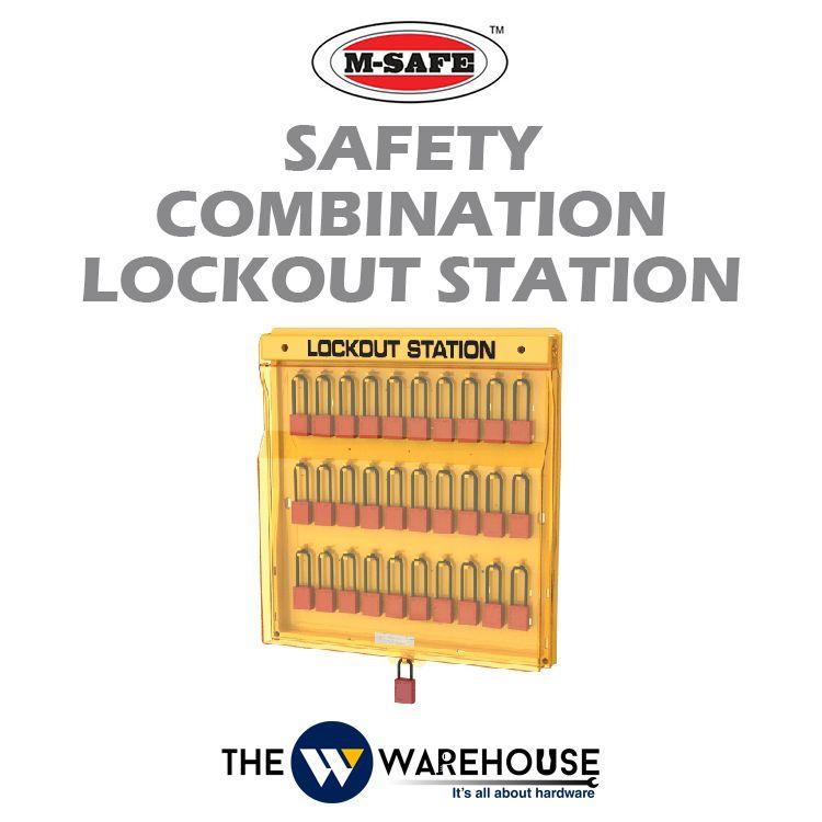 M-SAFE Safety Combination Lockout Station M-B202