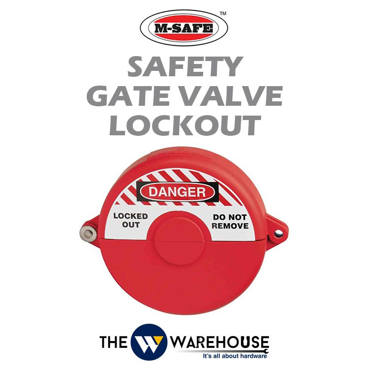 M-SAFE Safety Gate Valve Lockout