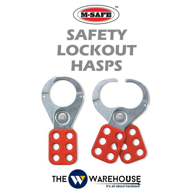 M-SAFE Safety Lockout Hasps