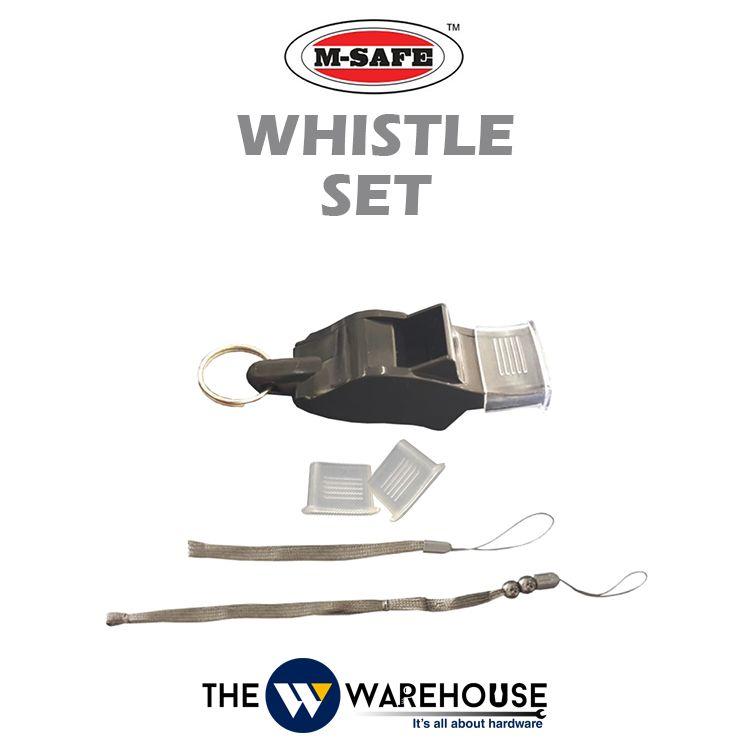 M-SAFE Whistle Set