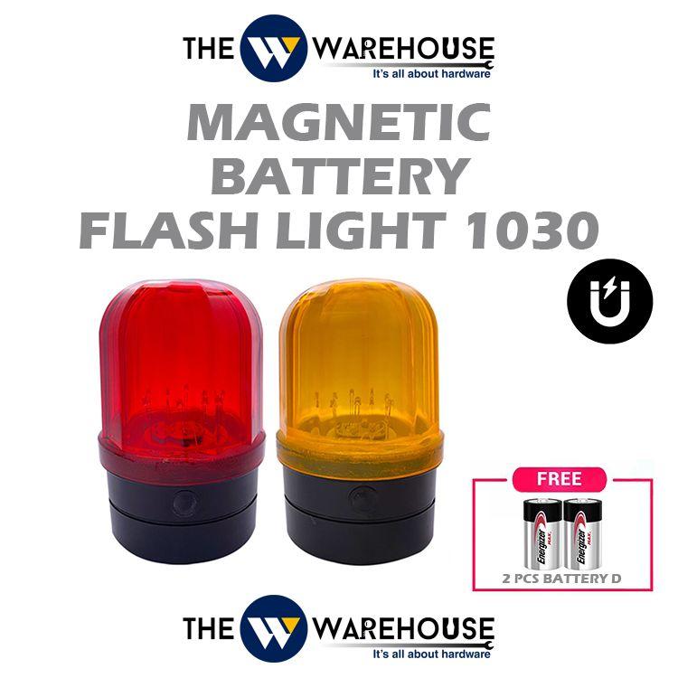 Magnetic Battery Flash Light 1030