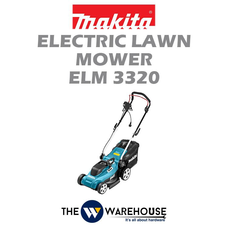 Makita Electric Lawn Mower ELM3320