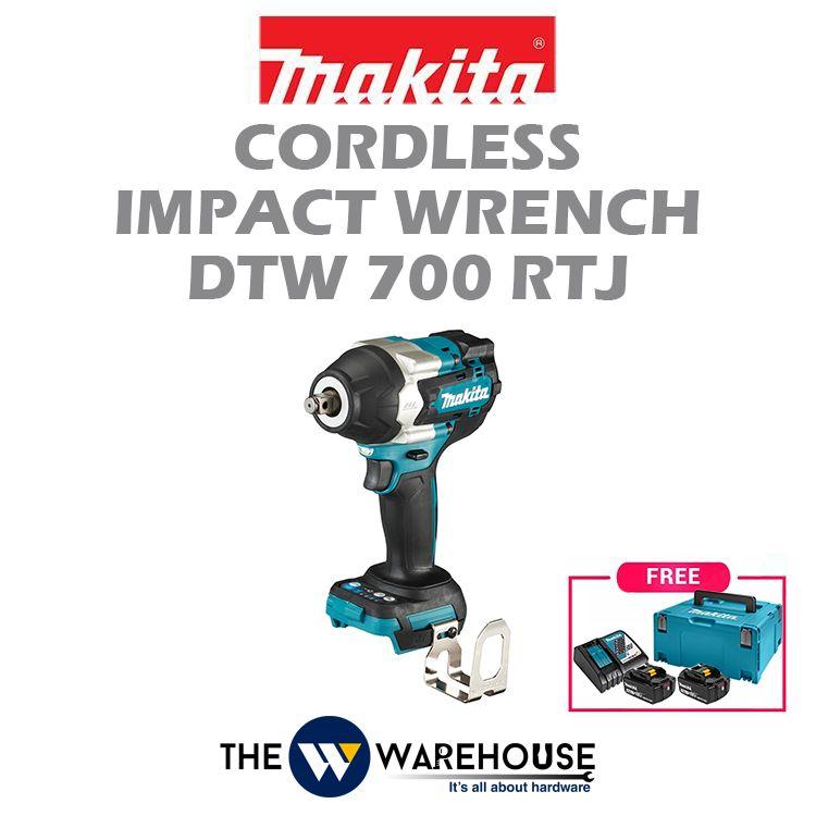 Makita Cordless Impact Wrench DTW700RTJ