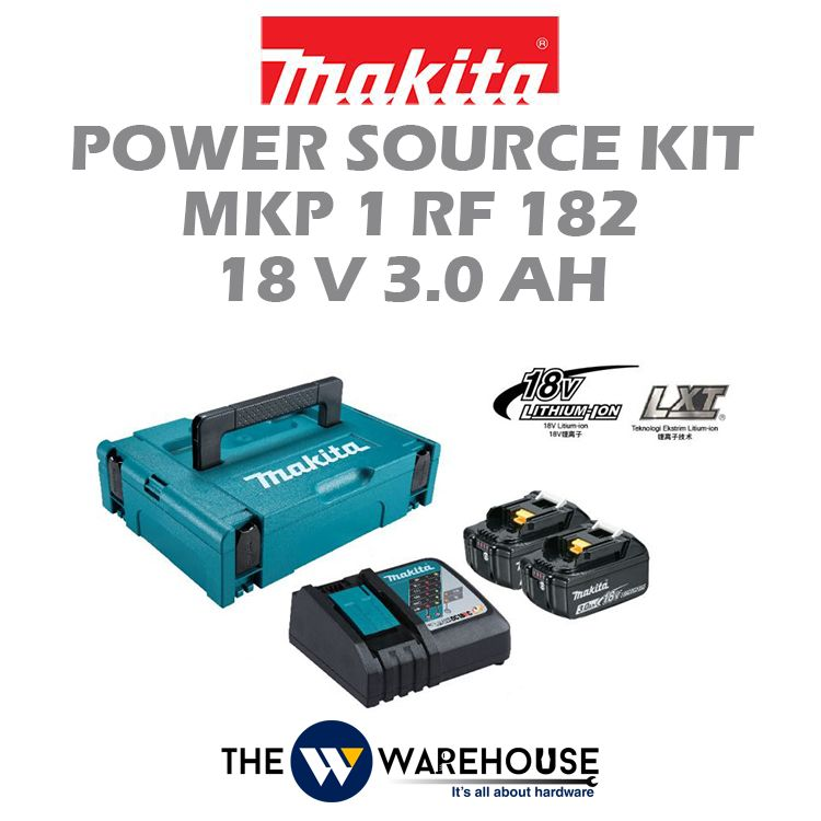 Makita Power Source Kit MKP1RF182