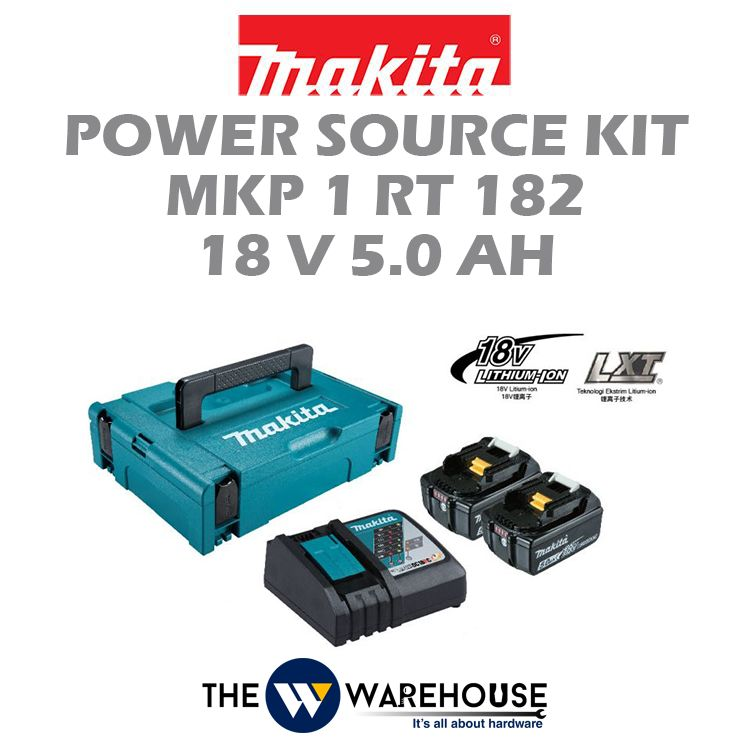Makita Power Source Kit MKP1RT182