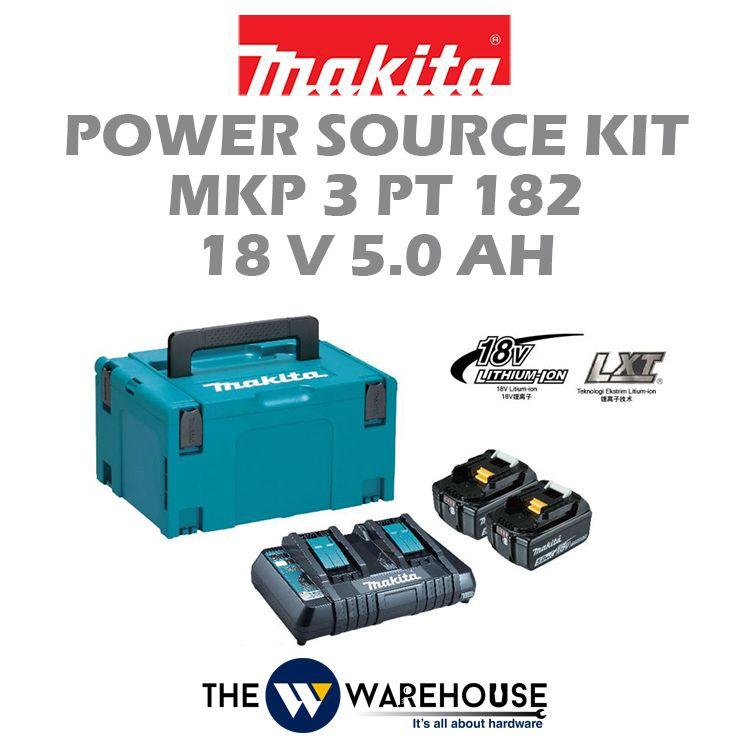 Makita Power Source Kit MKP3PT182
