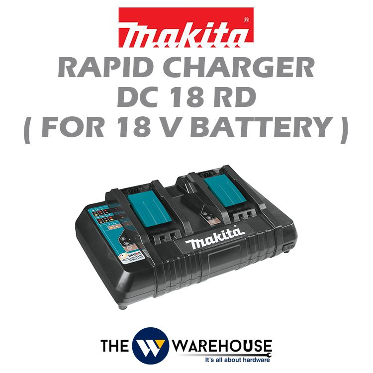 Makita Two Port Multi Fast Charger DC18RD