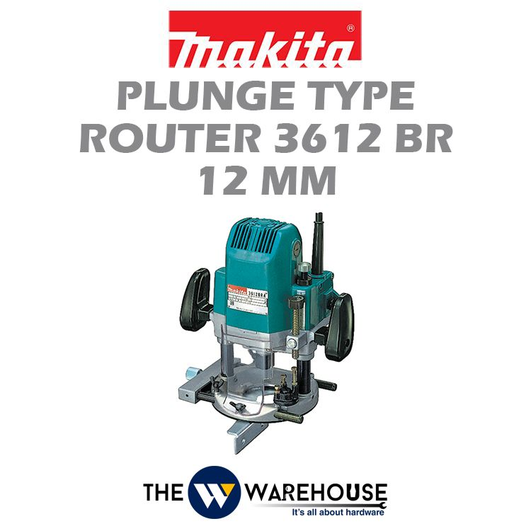 Makita Router (Plunge type) 3612BR 12mm