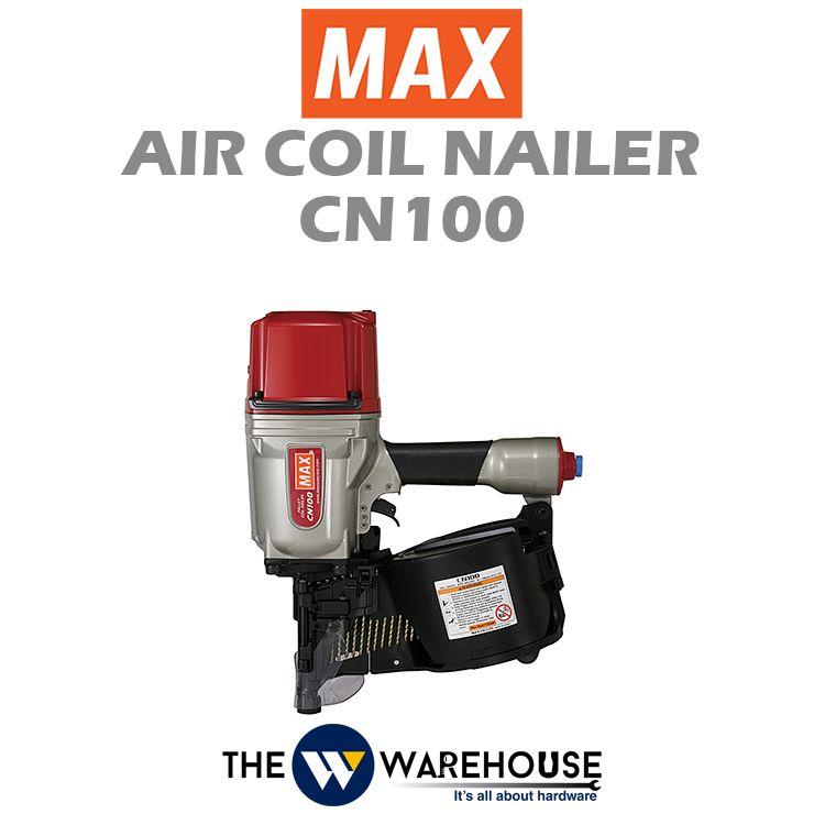 Max Air Coil Nailer CN100