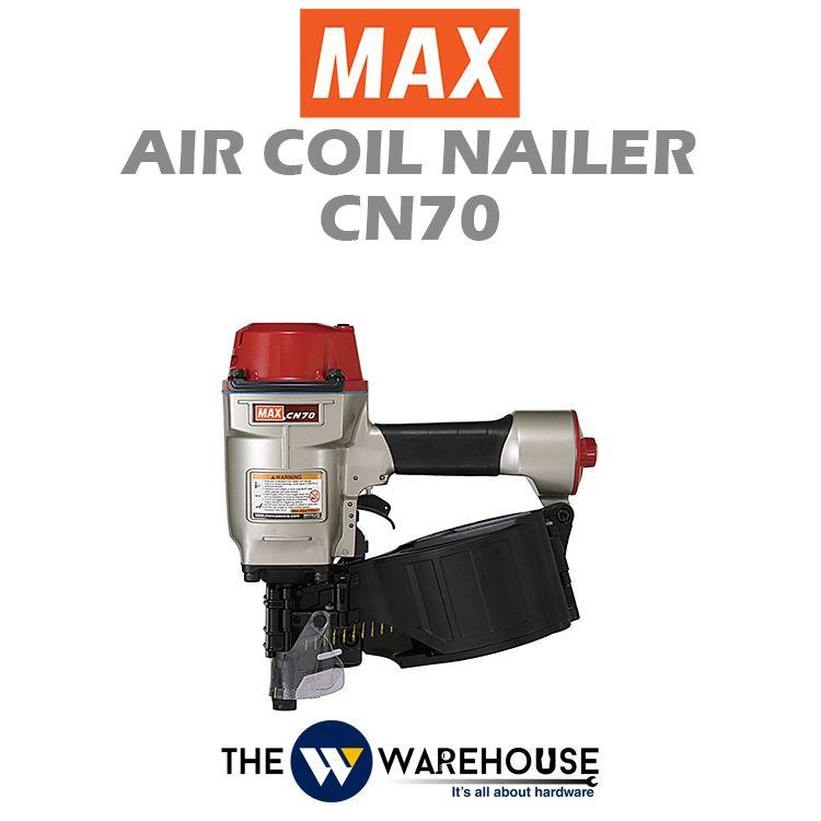 Max Air Coil Nailer CN70