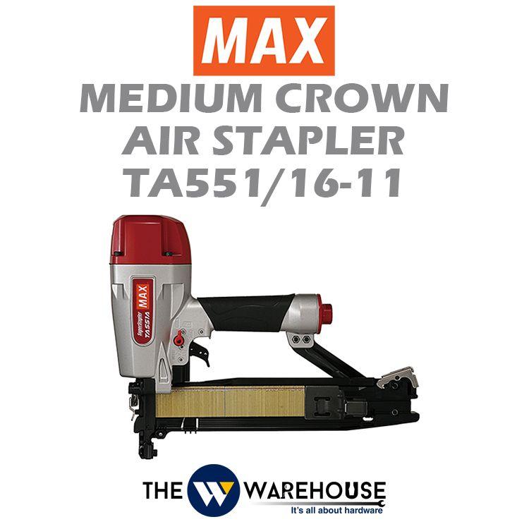 Max Medium Crown Air Stapler TA551/16-11