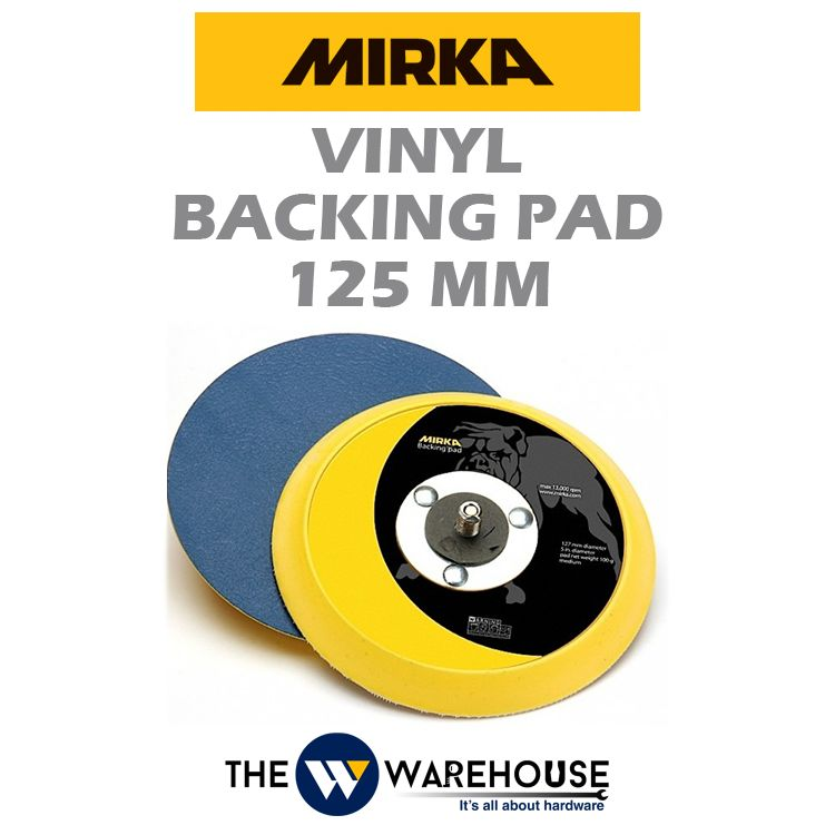 Mirka Vinyl Backing Pad 125 mm