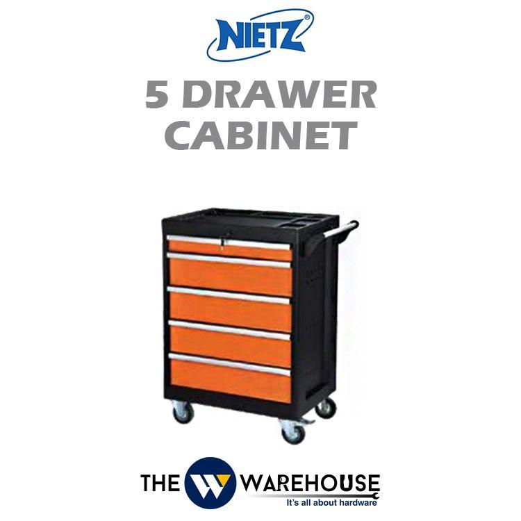 Nietz 5 Drawer Cabinet