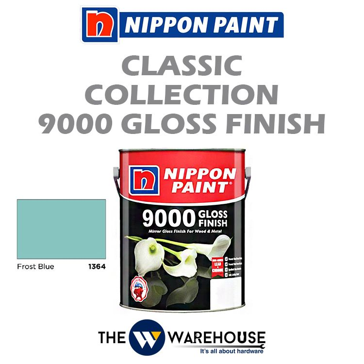 Nippon 9000 Gloss Finish - Frost Blue 1364