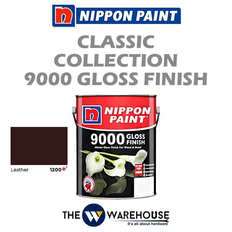 Nippon 9000 Gloss Finish - Leather 1200