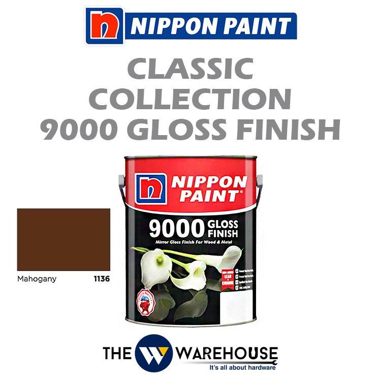 Nippon 9000 Gloss Finish - Mahogany 1136