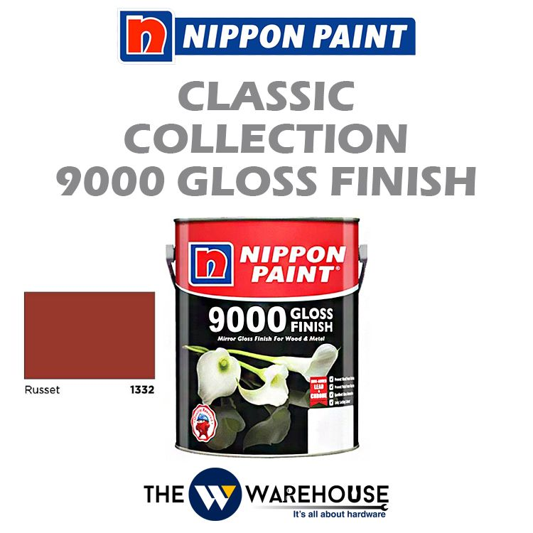 Nippon 9000 Gloss Finish - Russet 1332