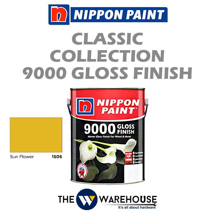 Nippon 9000 Gloss Finish - Sun Flower 1505