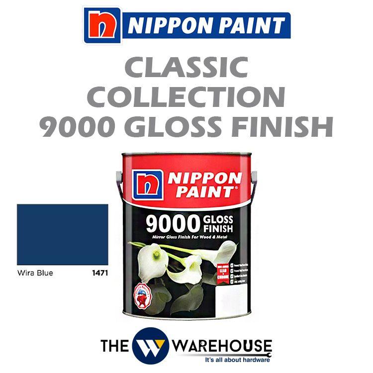 Nippon 9000 Gloss Finish - Wira Blue 1471