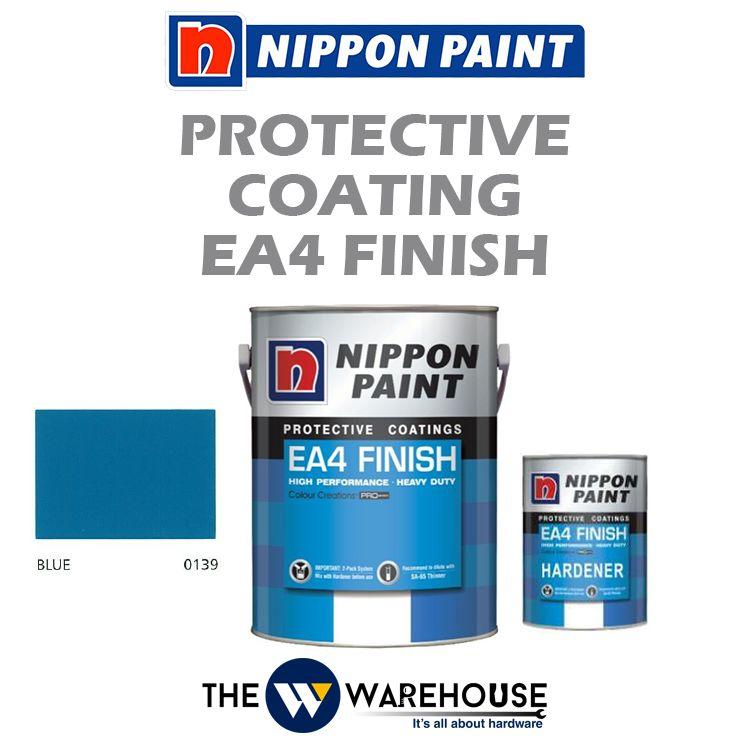 Nippon High Performance Protective Coating - EA4 Finish - Blue 0139