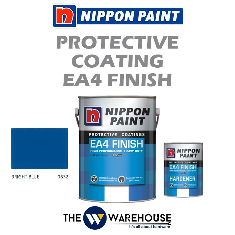 Nippon High Performance Protective Coating - EA4 Finish - Bright Blue 0632