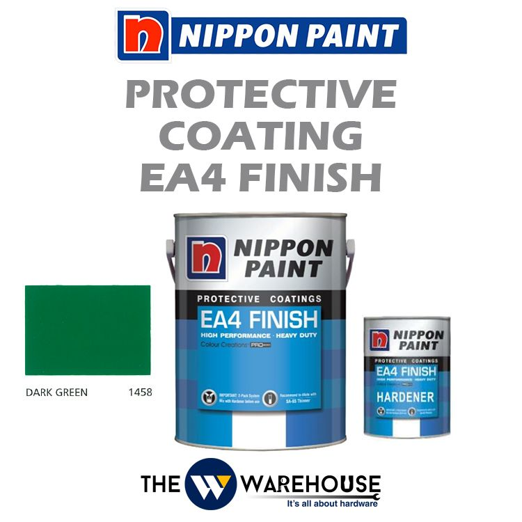 Nippon High Performance Protective Coating - EA4 Finish - Dark Green 1458