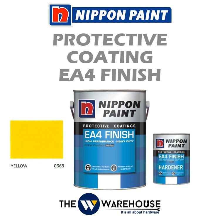 Nippon High Performance Protective Coating - EA4 Finish - Yellow 0668