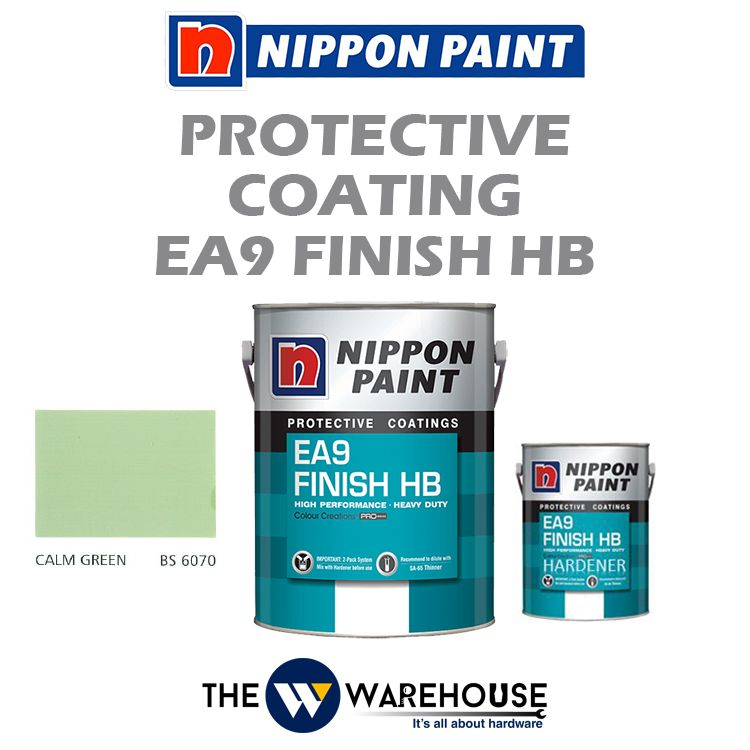 Nippon High Performance Protective Coating - EA9 Finish HB - Calm Green BS6070