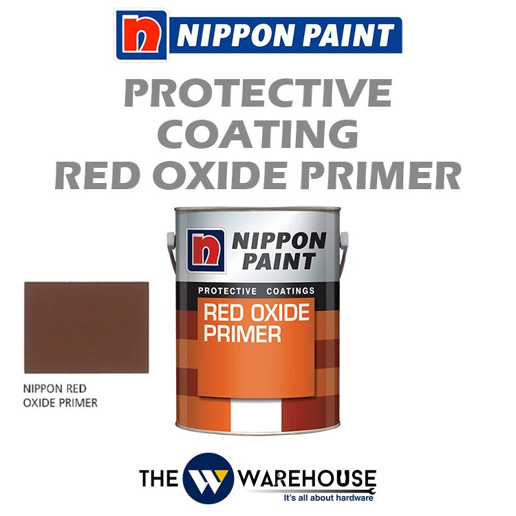 Nippon High Performance Protective Coating - Red Oxide Primer