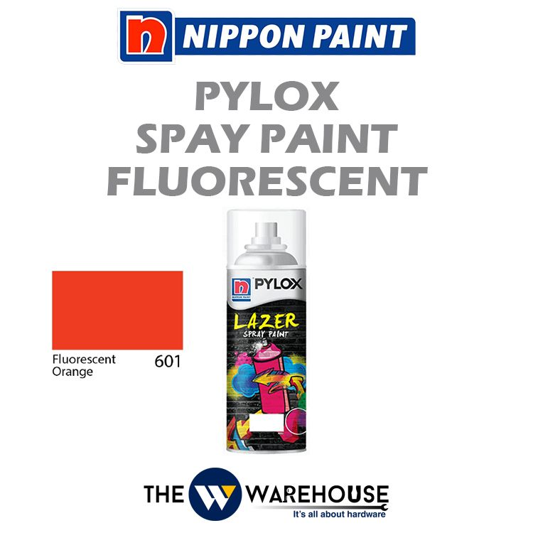 Nippon Pylox Spray Paint Fluorescent Orange 601