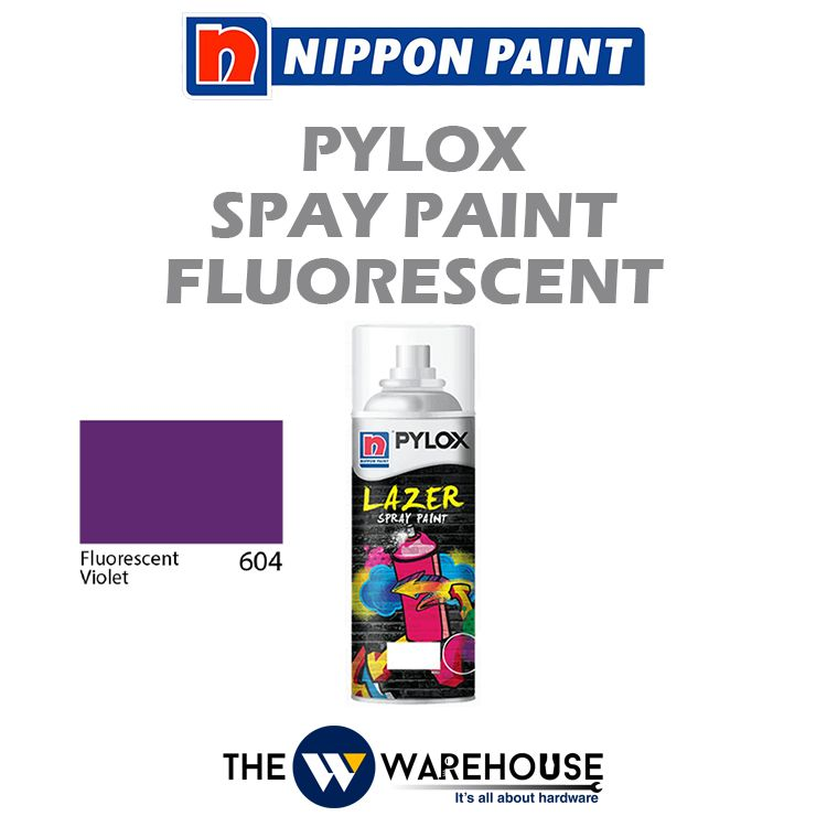 Nippon Pylox Spray Paint Fluorescent Violet 604
