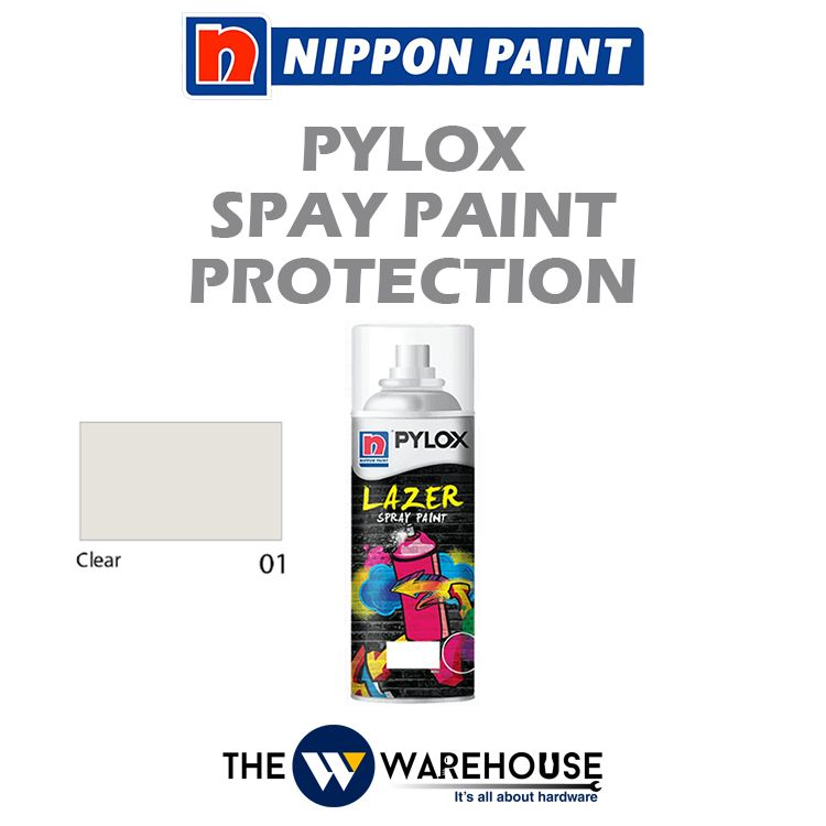 Nippon Pylox Spray Paint Heat Protection - Clear 01