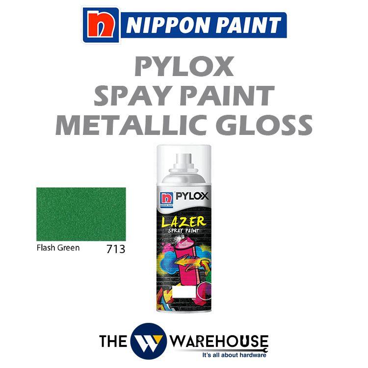Nippon Pylox Spray Paint Metallic Gloss - Flash Green 713
