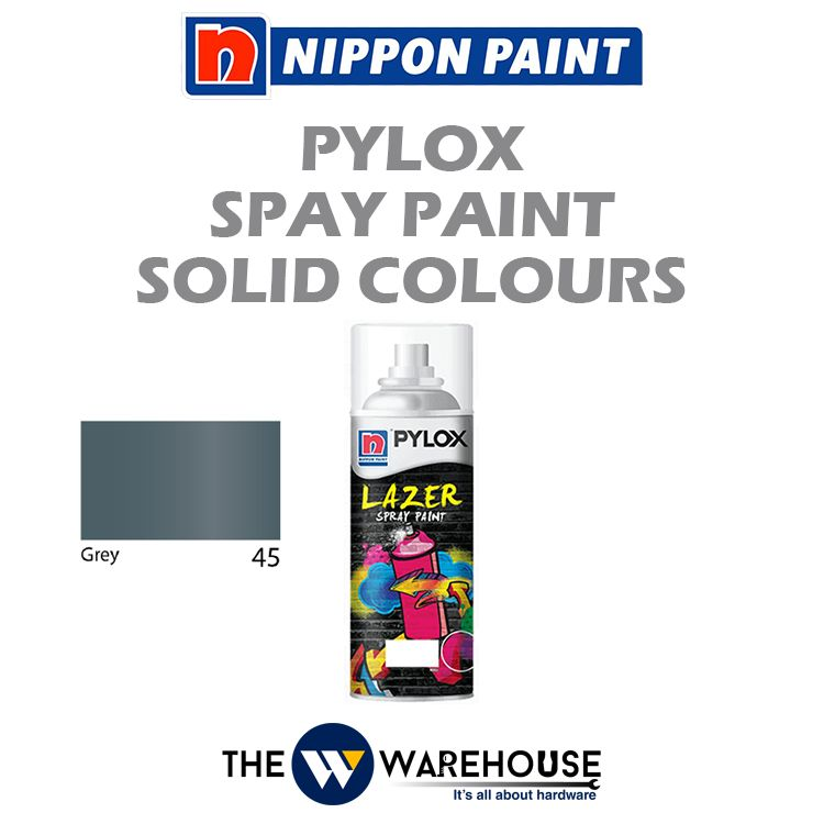 Nippon Pylox Spray Paint Solid Colours - Grey 45