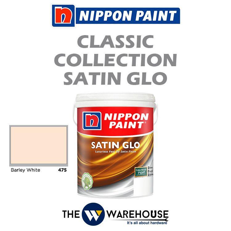 Nippon Satin Glo - Barley White 475