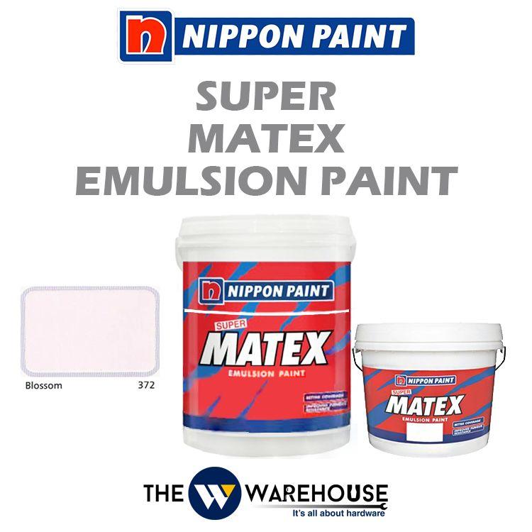 Nippon Super Matex Emulsion Paint - Blossom 372