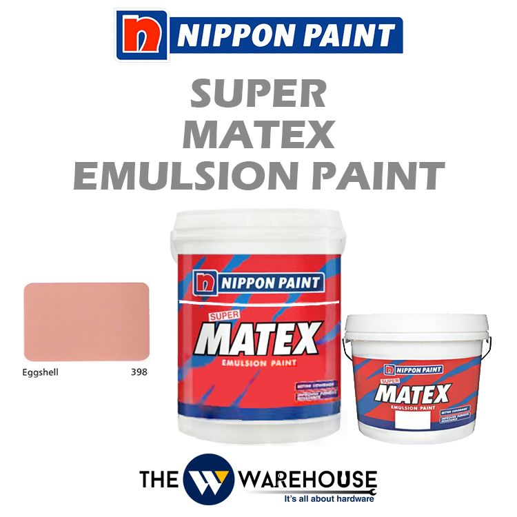 Nippon Super Matex Emulsion Paint - Eggshell 398