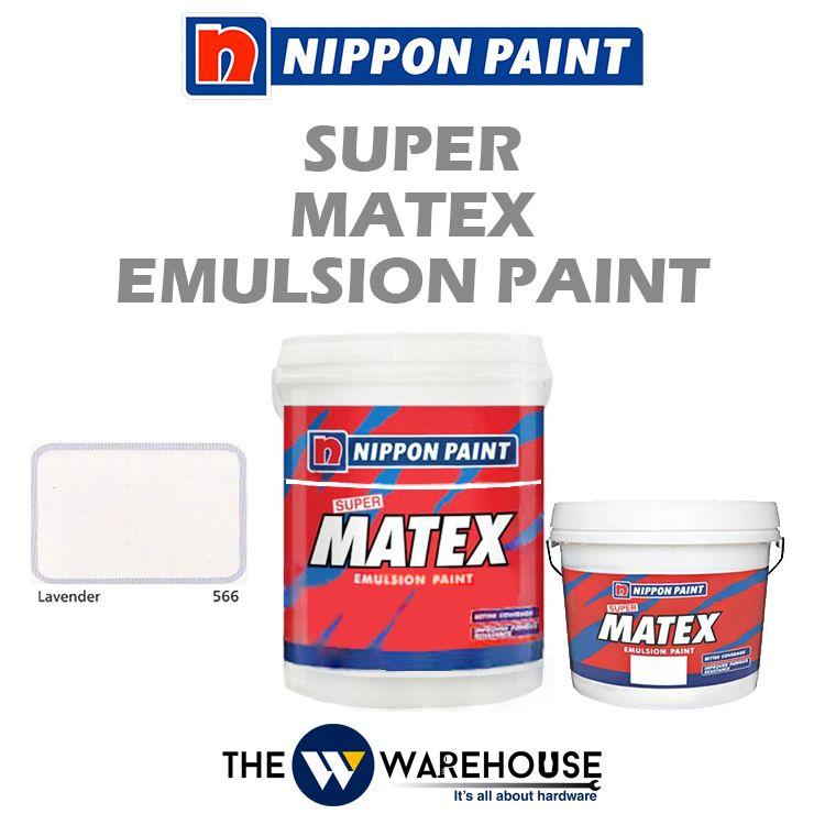Nippon Super Matex Emulsion Paint - Lavender 566