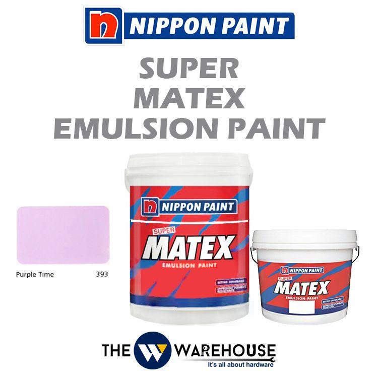 Nippon Super Matex Emulsion Paint - Purple Time 393