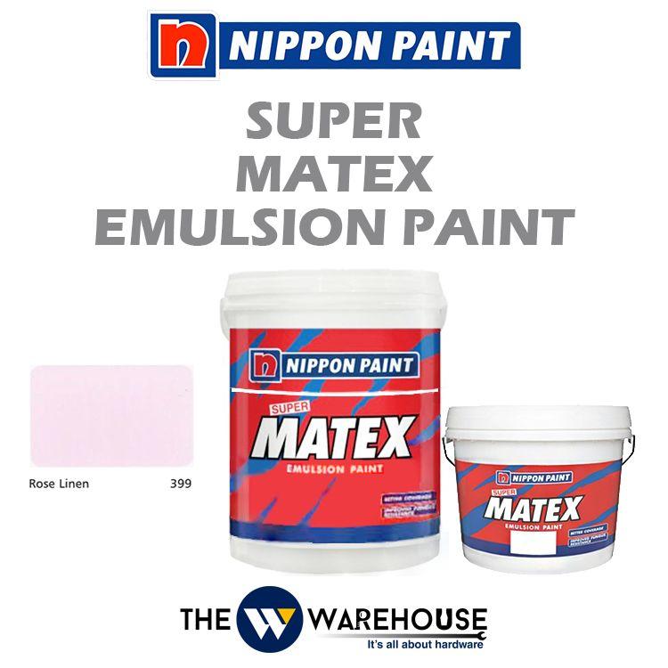 Nippon Super Matex Emulsion Paint - Rose Linen 399