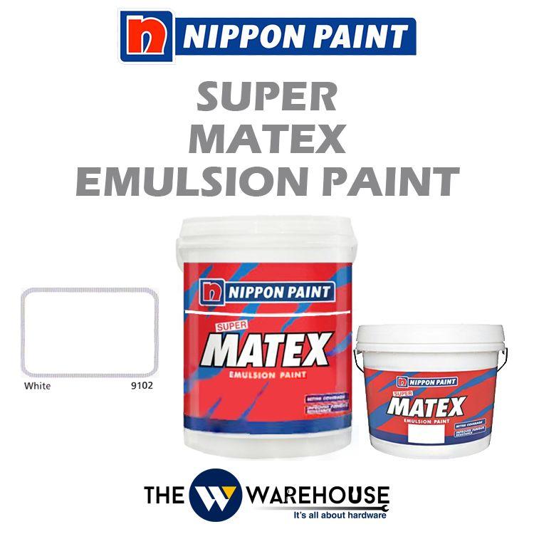 Nippon Super Matex Emulsion Paint - White 9102