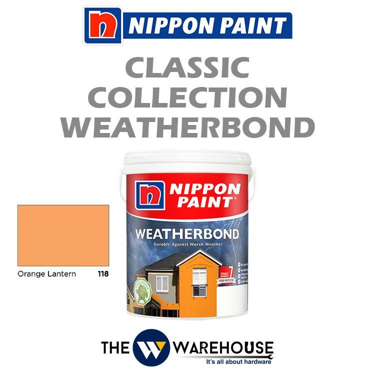 Nippon Weatherbond - Orange Lantern 118