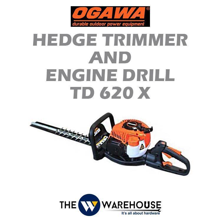 Ogawa Hedge Trimmer & Engine Drill TD620X