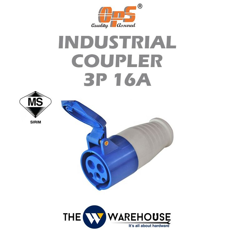 OPS Industrial Coupler 3P 16A