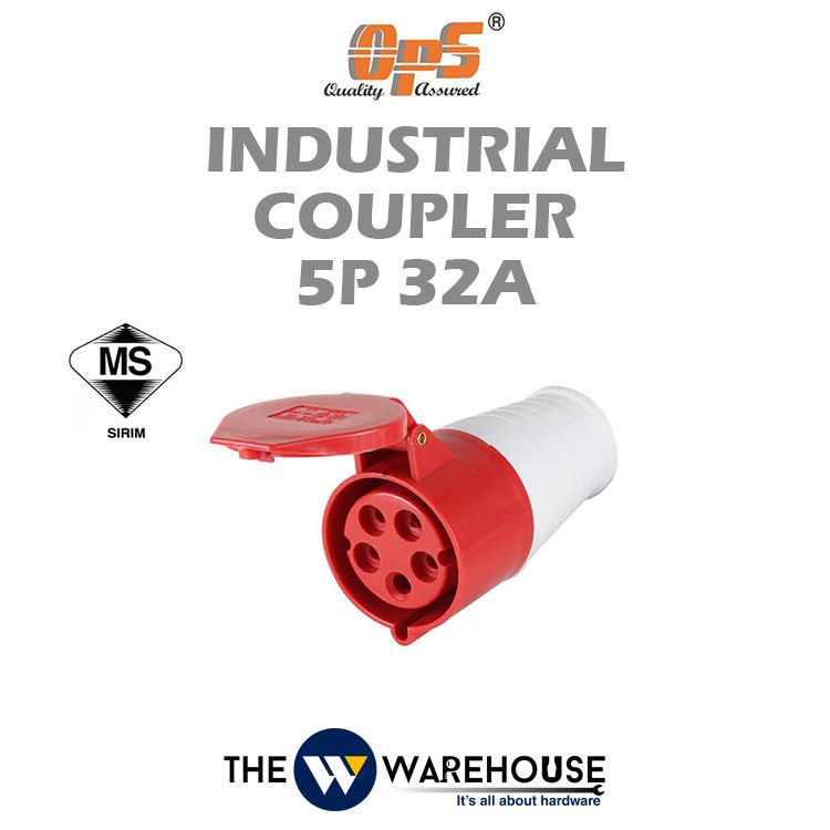 OPS Industrial Coupler 5P 32A
