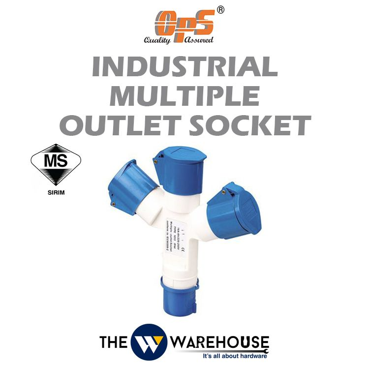 OPS Industrial Mutiple - Outlet Socket 3P 16A