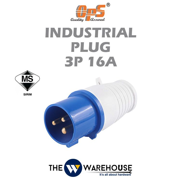 OPS Industrial Plug 3P 16A