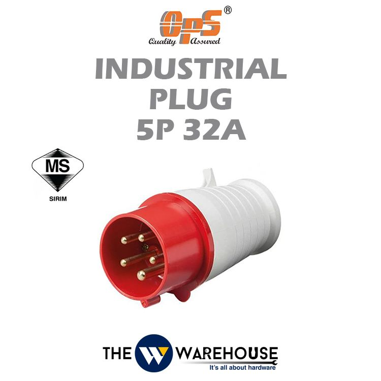 OPS Industrial Plug 5P 32A