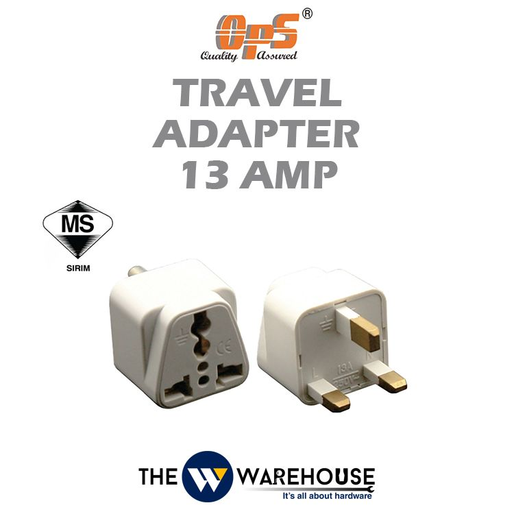 OPS Travel Adapter 13 Amp